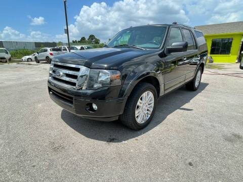 2012 Ford Expedition for sale at RODRIGUEZ MOTORS CO. in Houston TX