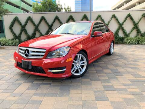 2013 Mercedes-Benz C-Class for sale at ROGERS MOTORCARS in Houston TX