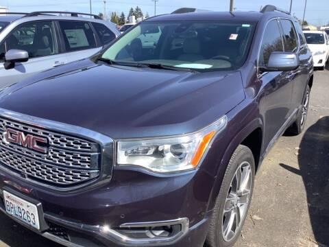 2018 GMC Acadia for sale at Royal Moore Custom Finance in Hillsboro OR