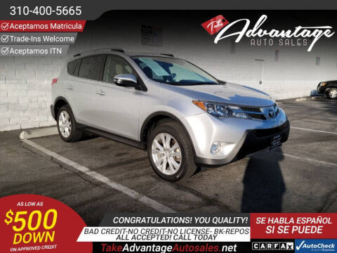 2018 Toyota RAV4 for sale at ADVANTAGE AUTO SALES INC in Bell CA