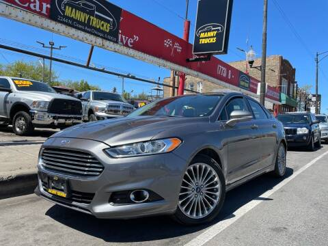 2013 Ford Fusion for sale at Manny Trucks in Chicago IL