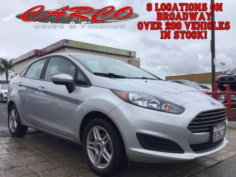 2017 Ford Fiesta for sale at CARCO SALES & FINANCE #3 in Chula Vista CA