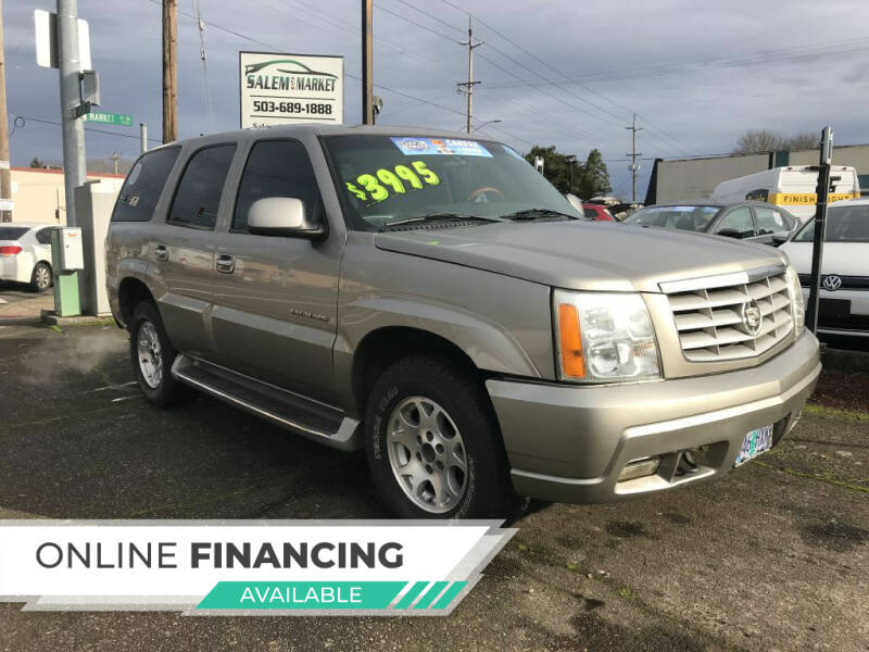 2002 Cadillac Escalade for sale at Salem Auto Market in Salem OR