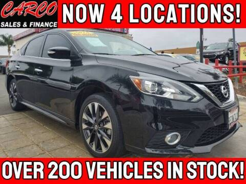 2018 Nissan Sentra for sale at CARCO SALES & FINANCE - CARCO OF POWAY in Poway CA