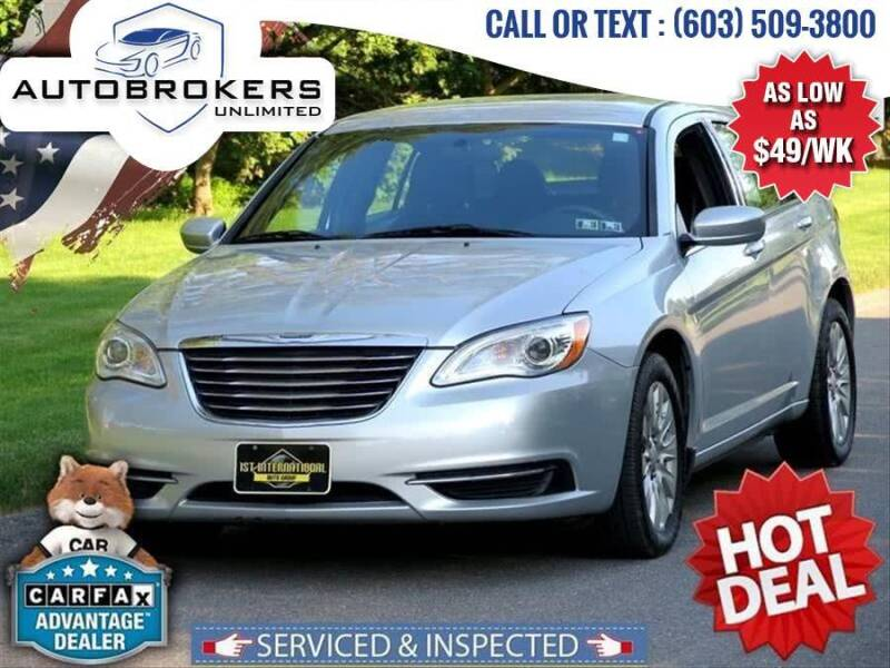2012 Chrysler 200 for sale at Auto Brokers Unlimited in Derry NH