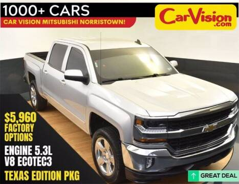 2018 Chevrolet Silverado 1500 for sale at Car Vision Buying Center in Norristown PA