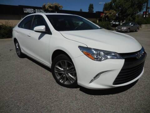 2017 Toyota Camry for sale at ARAX AUTO SALES in Tujunga CA