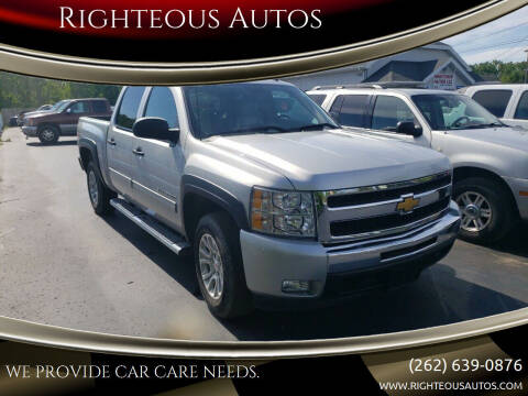 2010 Chevrolet Silverado 1500 for sale at Righteous Autos in Racine WI