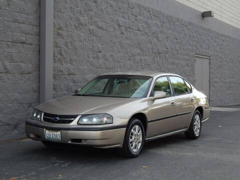2002 Chevrolet Impala for sale at Gilroy Motorsports in Gilroy CA