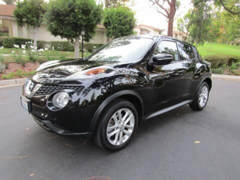2015 Nissan JUKE for sale at E MOTORCARS in Fullerton CA