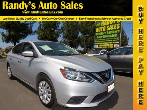2017 Nissan Sentra for sale at Randy's Auto Sales in Ontario CA