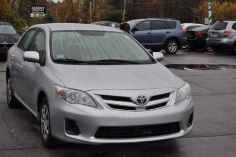 2011 Toyota Corolla for sale at Amati Auto Group in Hooksett NH
