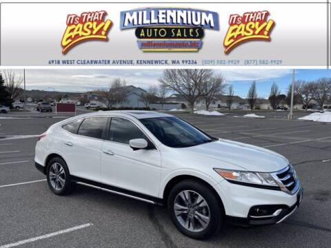 2013 Honda Crosstour for sale at Millennium Auto Sales in Kennewick WA