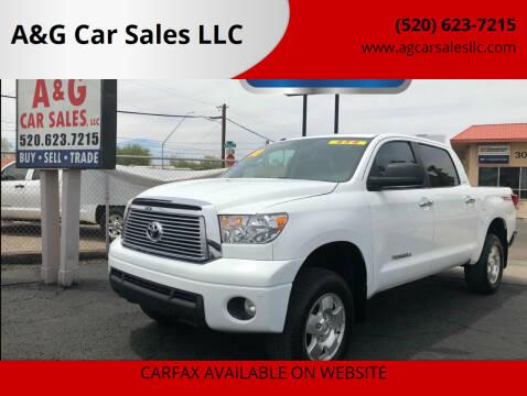 2010 Toyota Tundra for sale at A&G Car Sales  LLC in Tucson AZ
