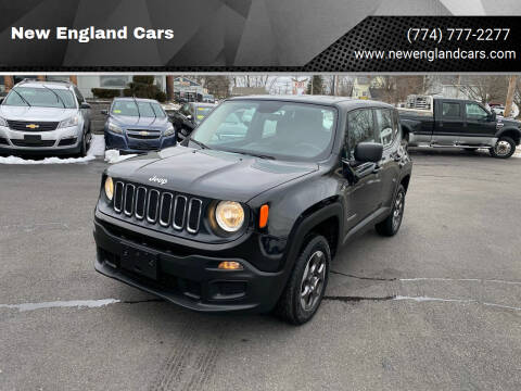 2016 Jeep Renegade for sale at New England Cars in Attleboro MA