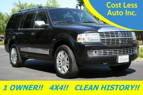 2012 Lincoln Navigator for sale at Cost Less Auto Inc. in Rocklin CA
