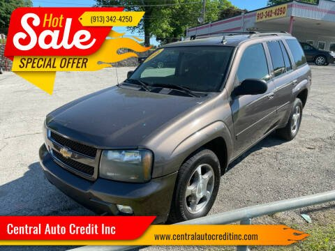 2008 Chevrolet TrailBlazer for sale at Central Auto Credit Inc in Kansas City KS