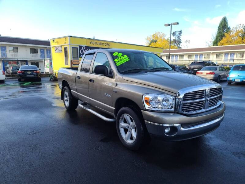 2008 Dodge Ram Pickup 1500 for sale at SWIFT AUTO SALES INC in Salem OR