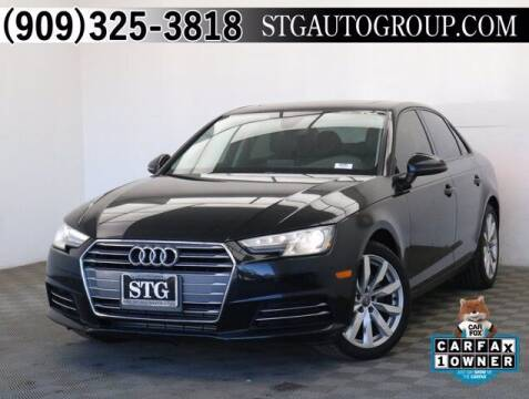 2017 Audi A4 for sale at STG Auto Group in Montclair CA