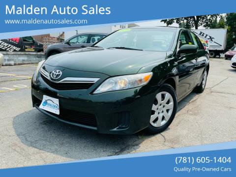 2011 Toyota Camry Hybrid for sale at Malden Auto Sales in Malden MA