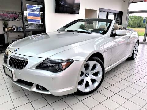 2006 BMW 6 Series for sale at SAINT CHARLES MOTORCARS in Saint Charles IL