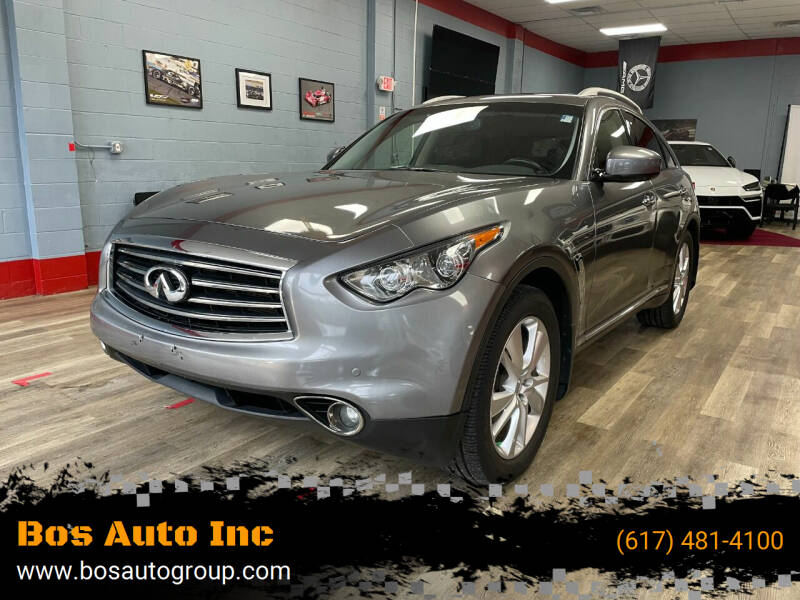 2013 Infiniti FX37 for sale at Bos Auto Inc in Quincy MA