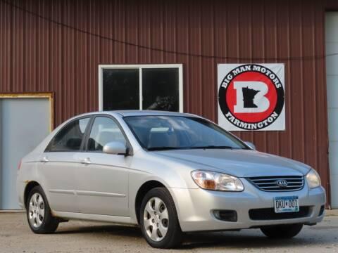 2008 Kia Spectra for sale at Big Man Motors in Farmington MN