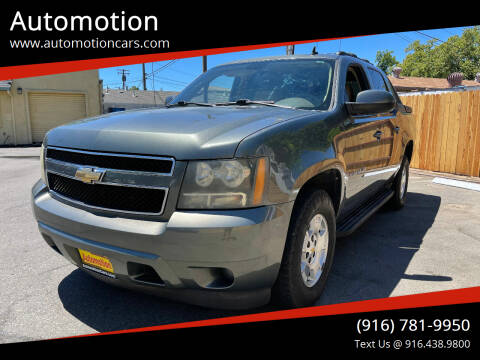 2011 Chevrolet Avalanche for sale at Automotion in Roseville CA