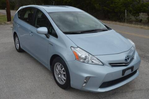 2012 Toyota Prius v for sale at Coleman Auto Group in Austin TX