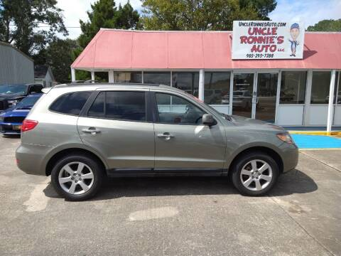2009 Hyundai Santa Fe for sale at Uncle Ronnie's Auto LLC in Houma LA