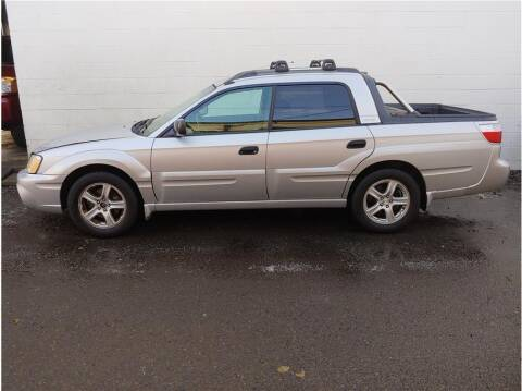 2003 Subaru Baja for sale at Chehalis Auto Center in Chehalis WA