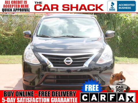2018 Nissan Versa for sale at The Car Shack in Hialeah FL
