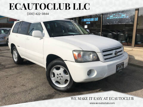 2007 Toyota Highlander for sale at ECAUTOCLUB LLC in Kent OH