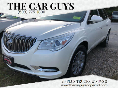 2013 Buick Enclave for sale at The Car Guys in Hyannis MA