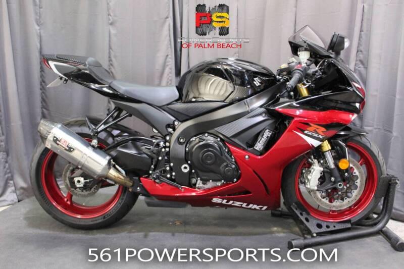2018 Suzuki GSX-R750 for sale at Powersports of Palm Beach in Hollywood FL