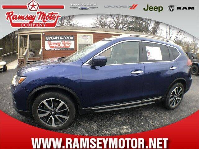 2020 Nissan Rogue for sale at RAMSEY MOTOR CO in Harrison AR