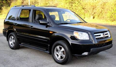 2005 Honda Pilot for sale at Angelo's Auto Sales in Lowellville OH