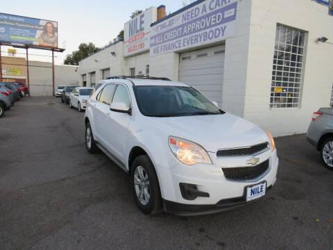 2010 Chevrolet Equinox for sale at Nile Auto Sales in Denver CO