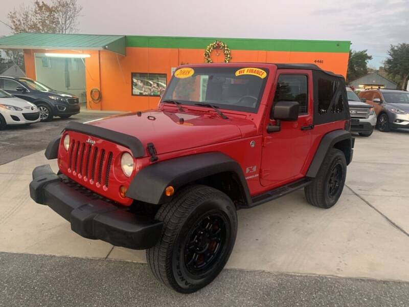 2008 Jeep Wrangler for sale at Galaxy Auto Service, Inc. in Orlando FL