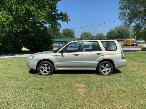2007 Subaru Forester for sale at Velp Avenue Motors LLC in Green Bay WI