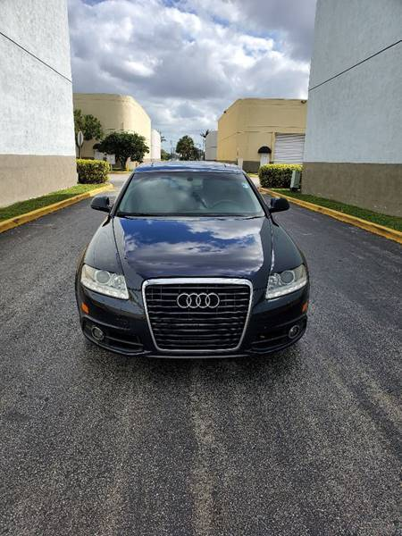 2011 Audi A6 for sale at INTERNATIONAL AUTO BROKERS INC in Hollywood FL