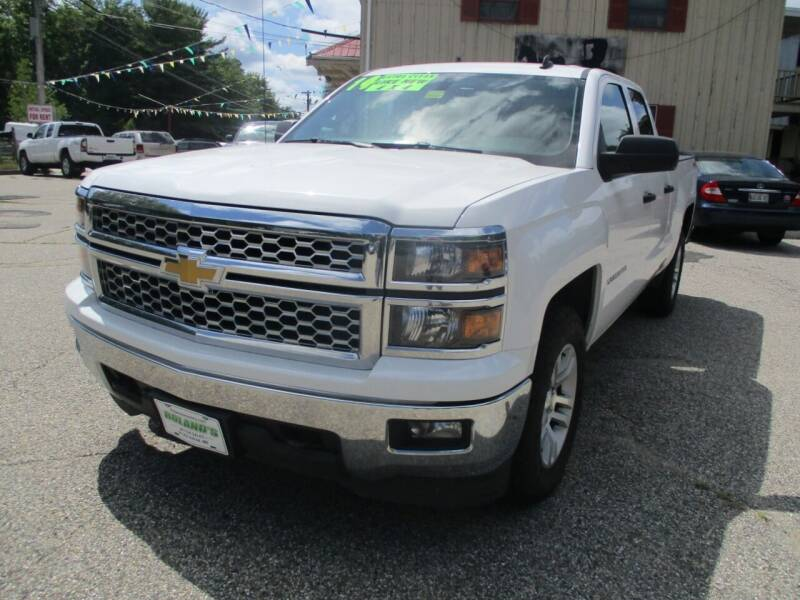 2014 Chevrolet Silverado 1500 for sale at Roland's Motor Sales in Alfred ME