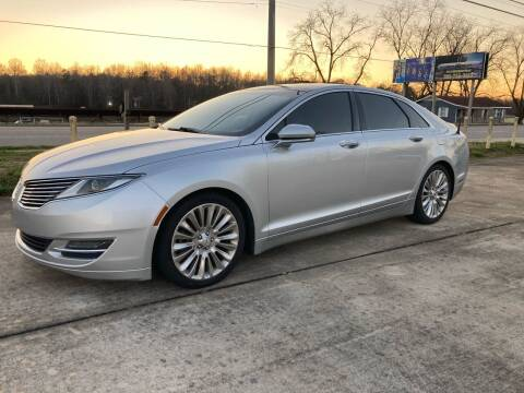 2014 Lincoln MKZ for sale at A & H Auto Sales in Clanton AL