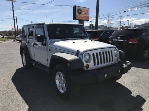 2012 Jeep Wrangler Unlimited for sale at Cars 4 Grab in Winchester VA