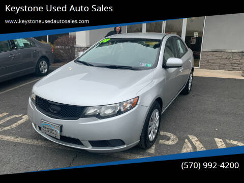 2010 Kia Forte for sale at Keystone Used Auto Sales in Brodheadsville PA