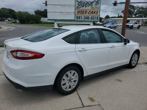 2014 Ford Fusion for sale at Steve's Auto Sales in Sarasota FL
