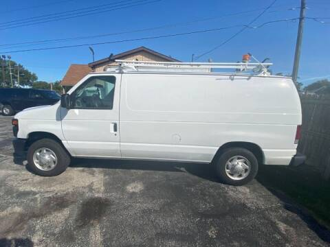 2013 Ford E-Series Cargo for sale at Groesbeck TRUCK SALES LLC in Mount Clemens MI