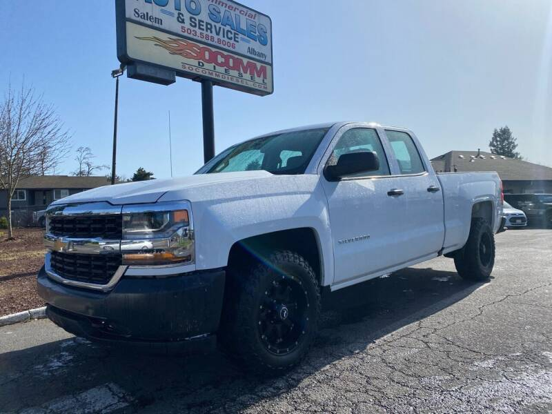 2018 Chevrolet Silverado 1500 for sale at South Commercial Auto Sales in Salem OR