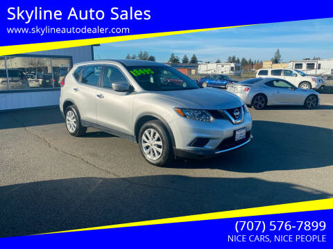 2014 Nissan Rogue for sale at Skyline Auto Sales in Santa Rosa CA