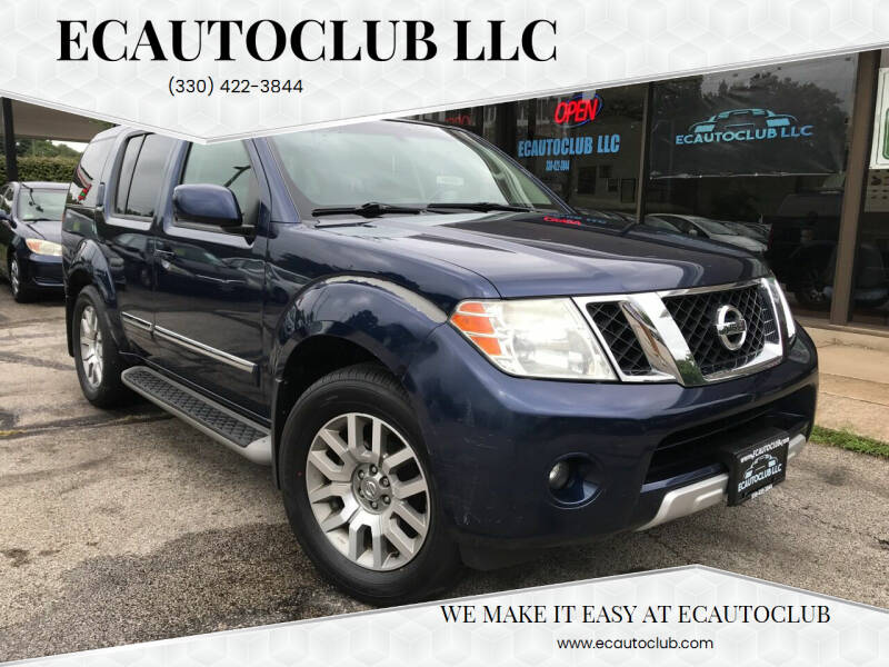 2009 Nissan Pathfinder for sale at ECAUTOCLUB LLC in Kent OH